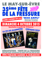 AFFICHE FRESSURE LE MAY 2015